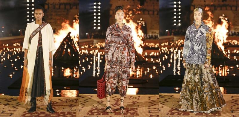 Dior 2020 Cruise at El Badi Palace - Silhouettes