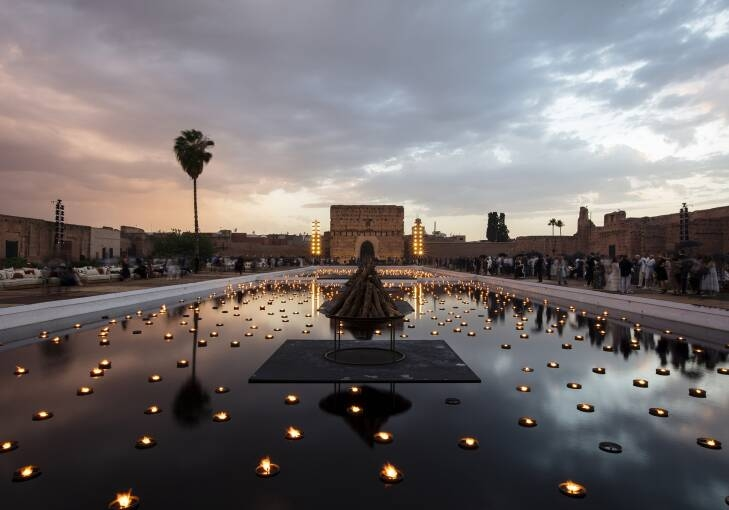 Dior 2020 Cruise at El Badi Palace - a dialogue between the Dior wardrobe and African fashion-