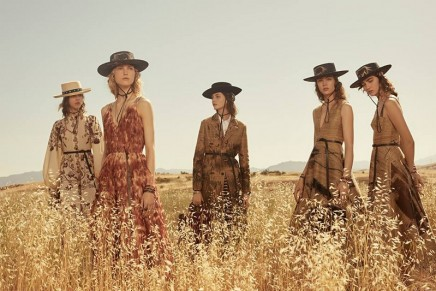 Ponchos, denim and lots of fringing: Dior does prairie chic for top clients
