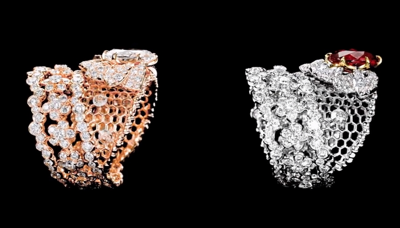 Dior Dior Dior High Jewelry 2018 collection rings-