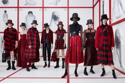 Dior's Maria Grazia Chiuri delved into British culture for next fall-winter season