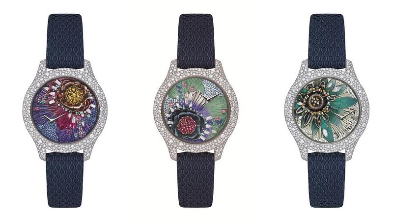 Dior Grand Soir Botanic Watches 2017 collection