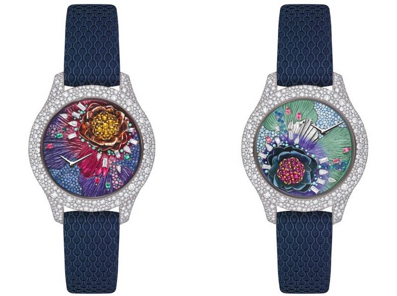 Dior Grand Soir Botanic Watches 2017
