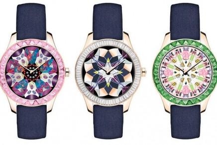 Haute Horlogerie: Embroidery – the new muse for Dior Grand Soir Kaleidiorscope