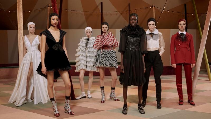 Dior Haute Couture - Dior Spring-Summer 2019 haute couture collection-photos-circus