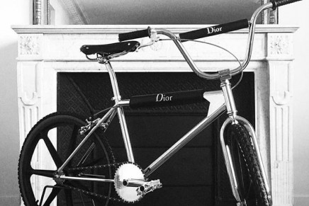 Dior Homme has three new Bogarde bikes designed by Kris Van Assche