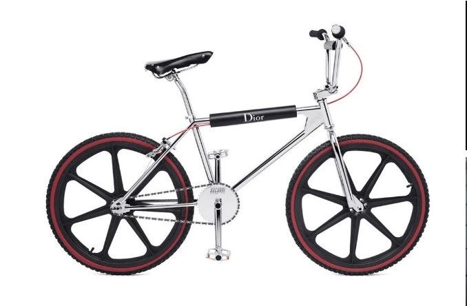 Dior bicycle