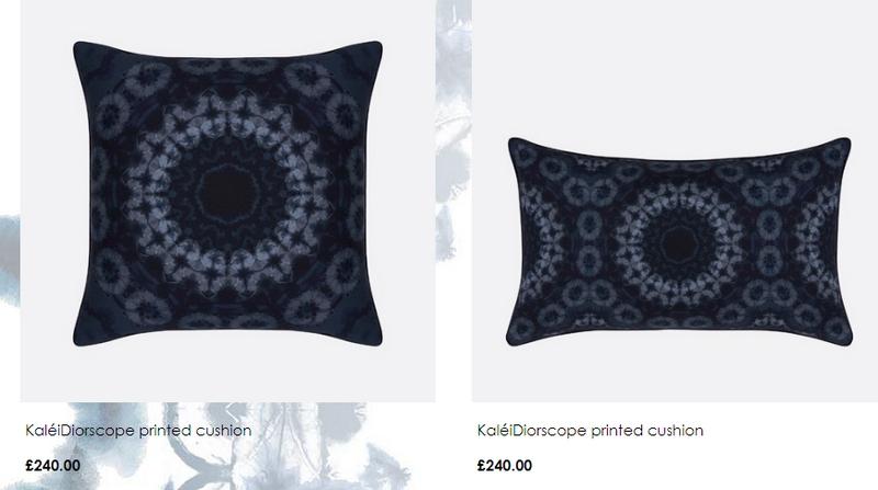 Dior maison printed cushion 2019
