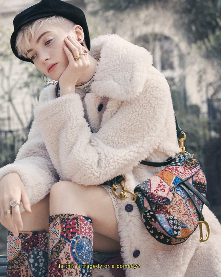 Dior saddle bag 2018-