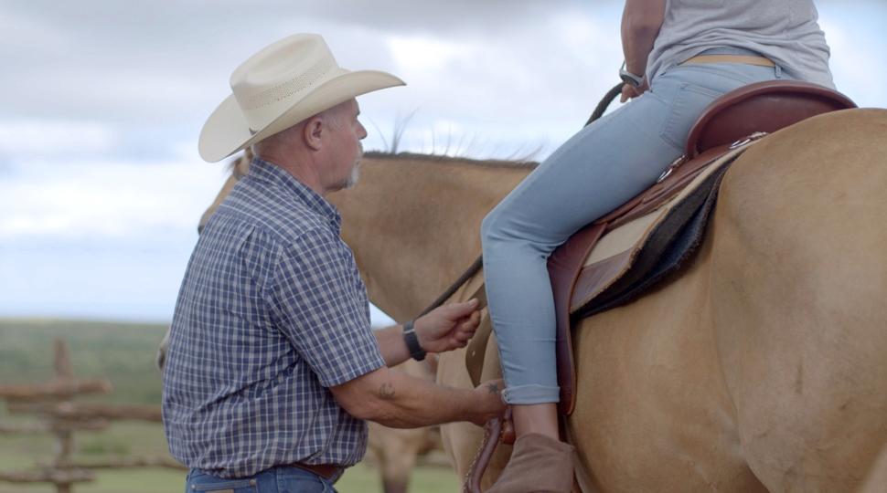 Director of Equestrian Activities Keith Moon Lanai