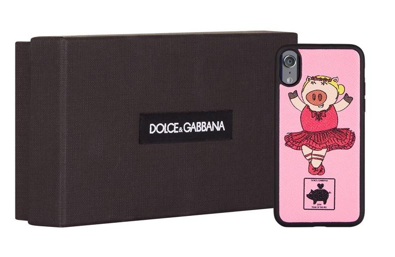Dolce & Gabbana Ballerina Pig iPhone X Case-