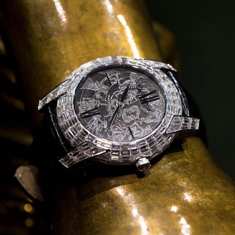 Dolce & Gabbana Kosmos timepiece 2019- Alta Orologeria Sartoria Shows 2019.