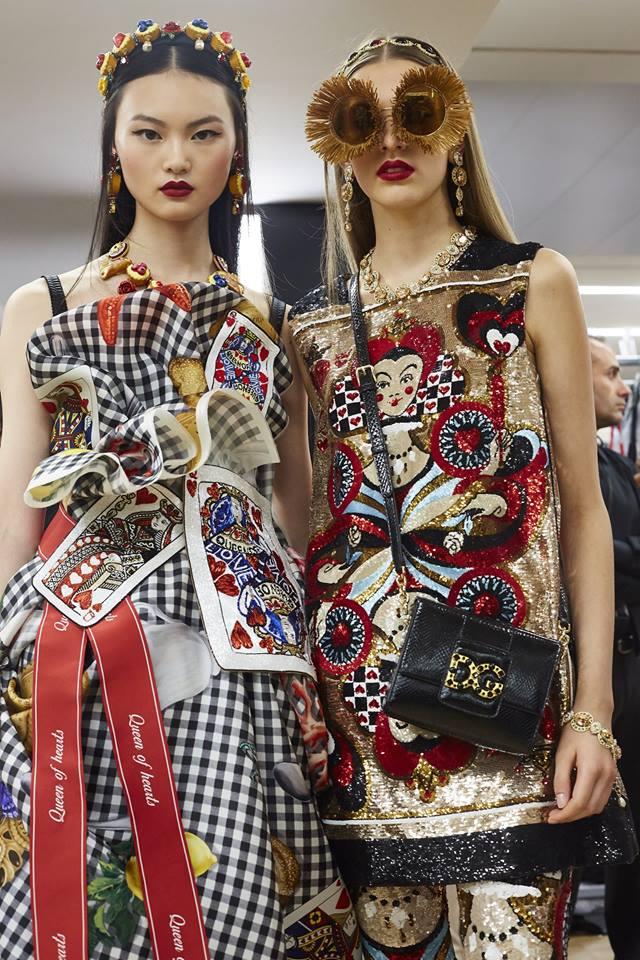Dolce & Gabbana Spring Summer 2018 Fashion Show during Milan Fashion Week-