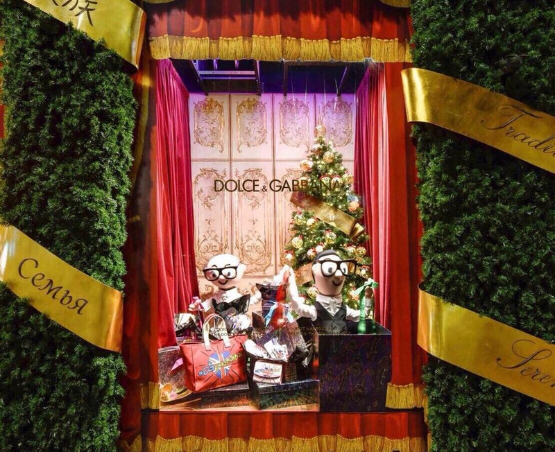 Dolce & Gabbana brings the magic of an Italian Christmas to Harrods London-