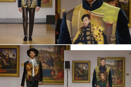 Dolce&Gabbana's Alta Sartoria inspired by Biblioteca Ambrosiana's precious codices and manuscripts