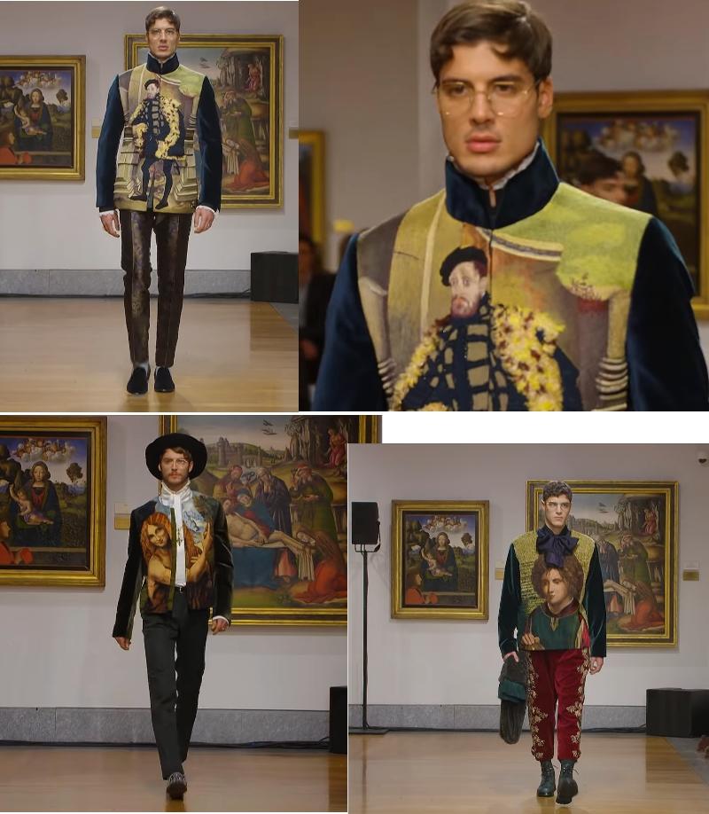 Dolce&Gabbana's Alta Sartoria inspired by the Pinacoteca Ambrosiana's works of art
