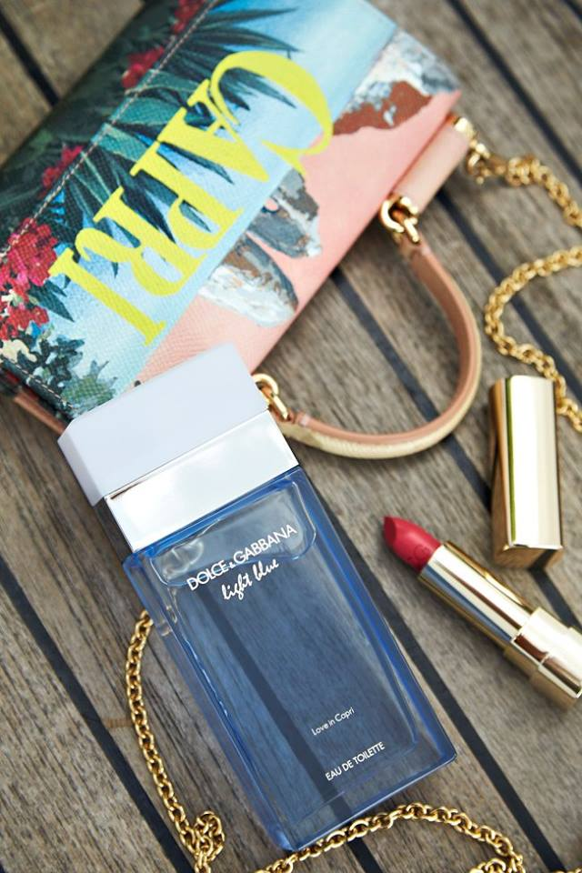 Dolce&Gabbana Beauty signs worldwide exclusive license agreement with Shiseido-DGLightBlue Love in Capri - 2luxury2 com