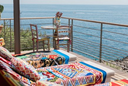 Dolce&Gabbana Cabana in Cap-Ferrat pays homage to traditional Sicilian carts
