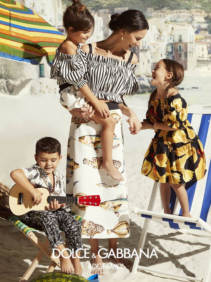 Dolce&Gabbana SS17 Children Advertising Campaign