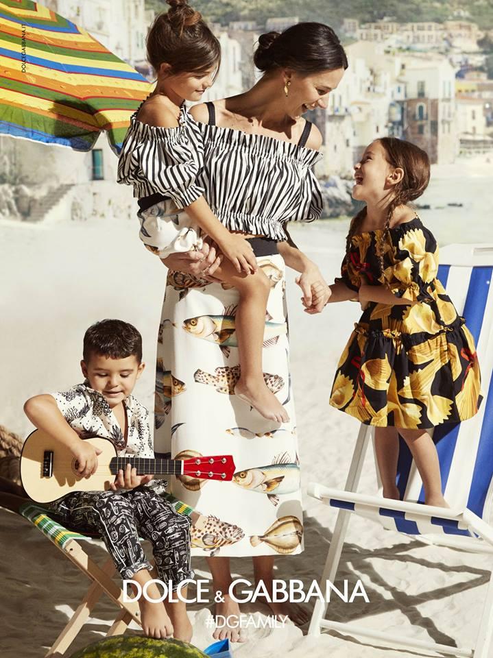 Dolce&Gabbana SS17 Children Advertising Campaign