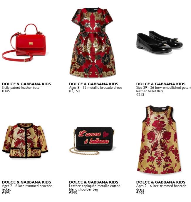 Dolce&Gabbana childrenswear capsule-