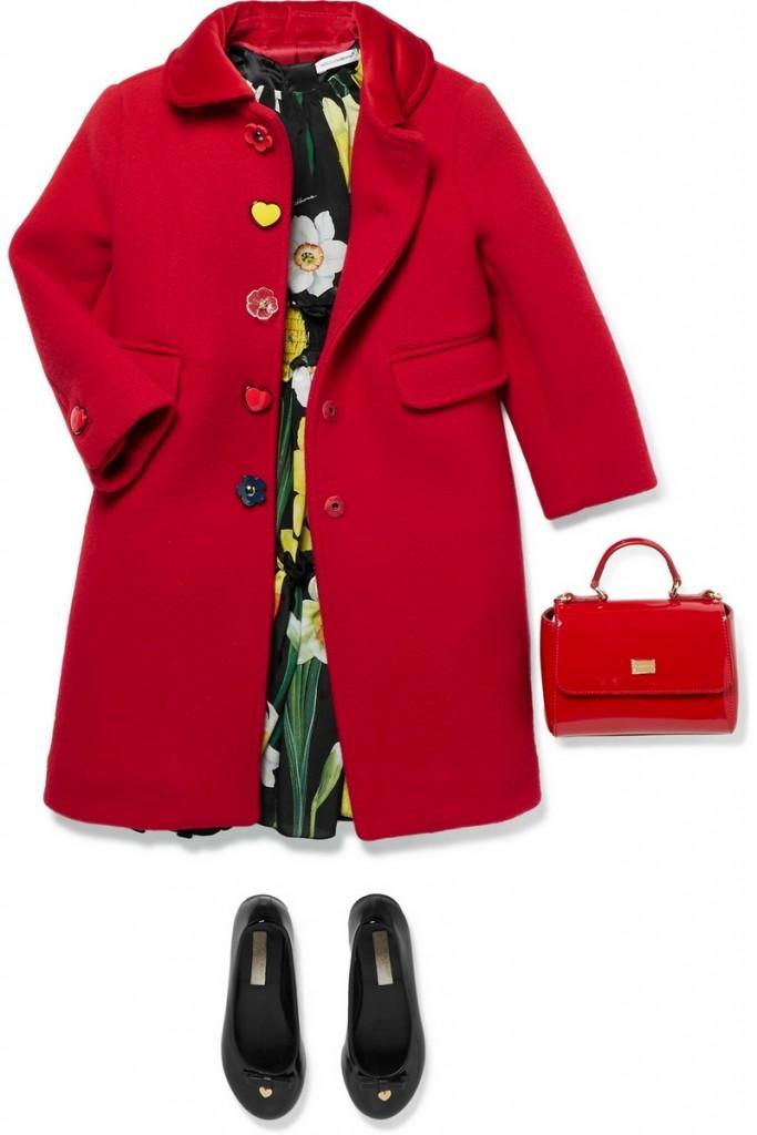 Dolce&Gabbana childrenswear capsule-floral-print dress