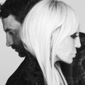 Donatella Versace And GIvenchy Riccardo Tisci