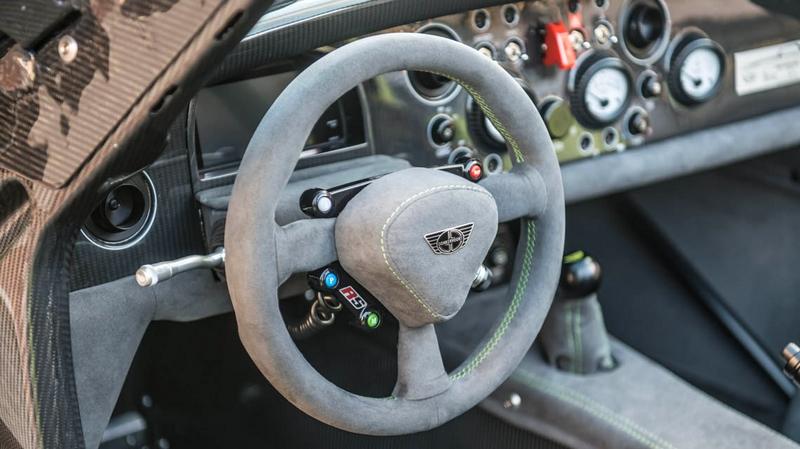 Donkervoort D8 GTO-RS wheel details-