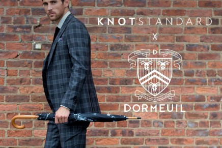 Dormeuil opens First Luxury Holiday Shop
