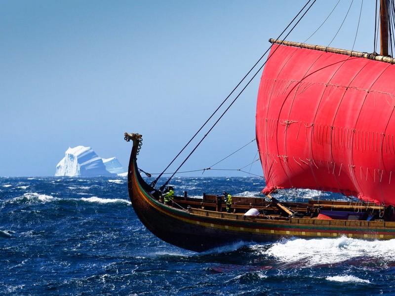 Draken Harald Hårfagre ship
