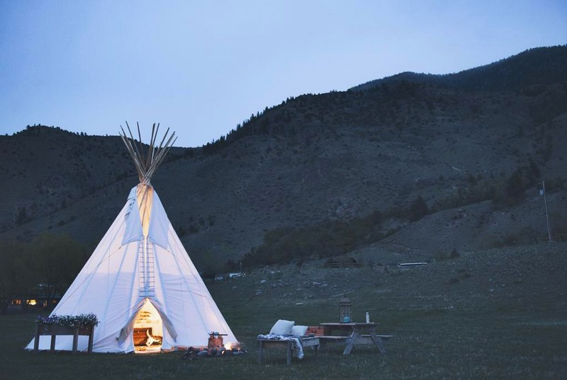Dreamcatcher Tipi Hotel - Yellowstone National Park, Montana, United States of America