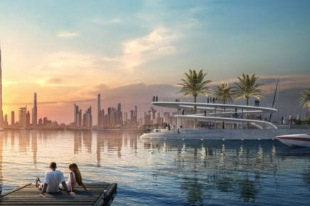 With 81 berths for yachts and superyachts, Dubai Creek Marina will celebrate its opening in December
