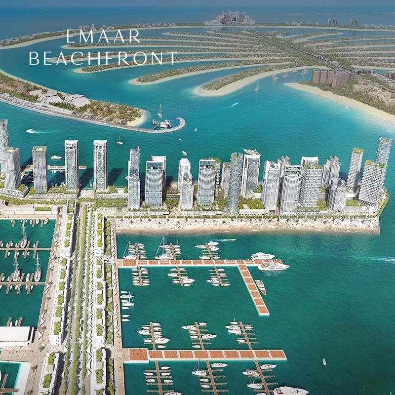 Dubai Creek Marina - Dubai Creek Harbour Dubai