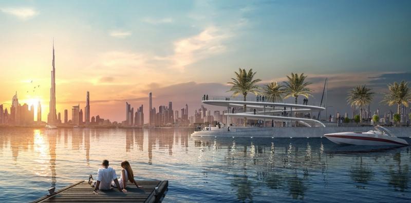 Dubai Creek Marina - Dubai Creek Harbour
