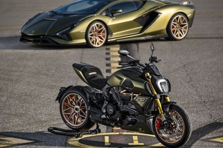 This new Lamborghini motorcycle inspired by the Sián FKP 37 is appealing to both motorcyclists and collectors