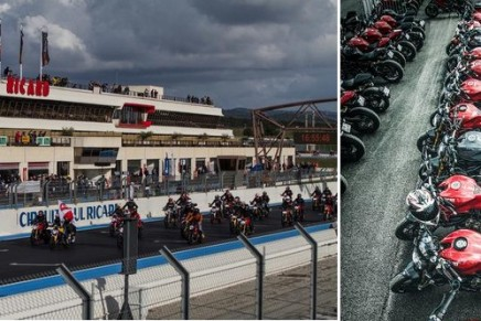 Ducati is putting on the biggest Ducati Monster Parade ever. The Monster is now in the Guinness book of records