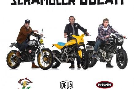 Ducati Scrambler Custom Rumble Kick off project