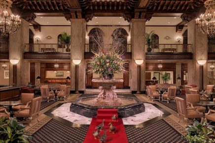 """This Hotel is Titled """"Best Historic Hotel' in the U.S. For Third Consecutive Year"""