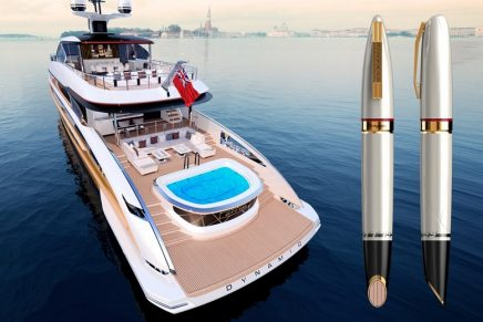 Collector's items: The latest Dynamiq superyacht inspires luxury rollerball pen