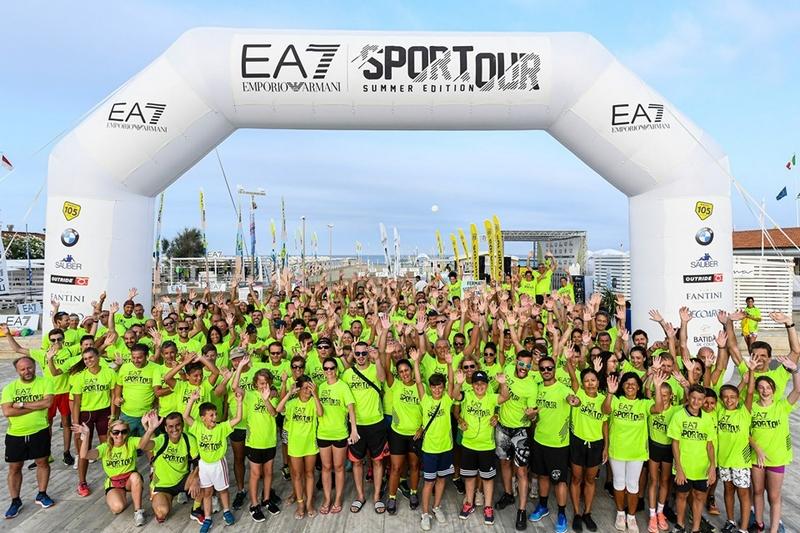 EA7 Emporio Armani Sportour Summer Edition - Lido di Camaiore