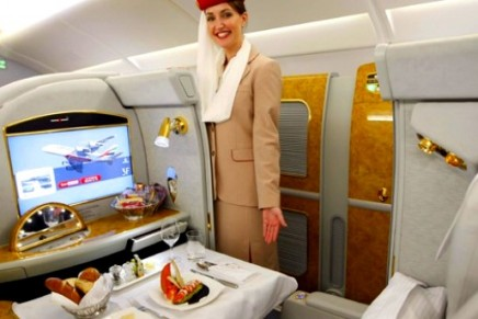 These Are the Most Luxurious First Class Cabins in the Sky Bookable with Points