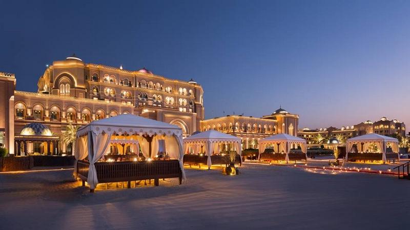 EMIRATES PALACE ABU DHABI RESTAURANTS & BARS RESTAURANTS BBQ AL QASR