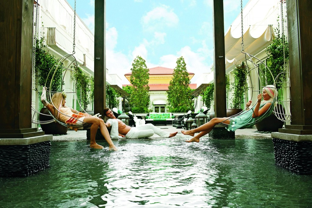 The Leading Spas Of The World Eau Spa At Eau Palm Beach Resort