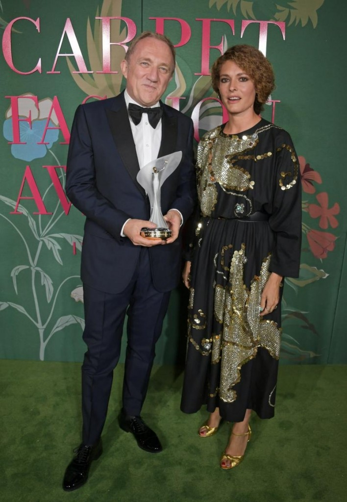 Eco- Age François-Henri Pinault received the GCFA Visionary Award