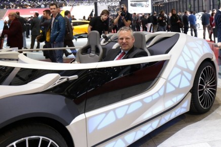 Edag bionic Soulmate. Smart cars set to become our third living environment