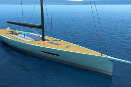 Philippe Briand's Egoiste 100 is a new spin on classic sailing concepts