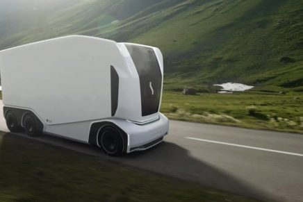 A whole new way to ship: Einride autonomous freight truck will hit the road next year