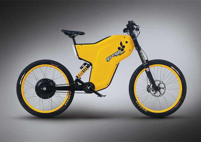 Electric Greyp G12 combines the best of both worlds – motorcycles and bicycles-2017models