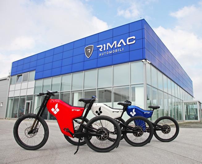 Electric Greyp G12 - custom bicycles by Rimac Automobili
