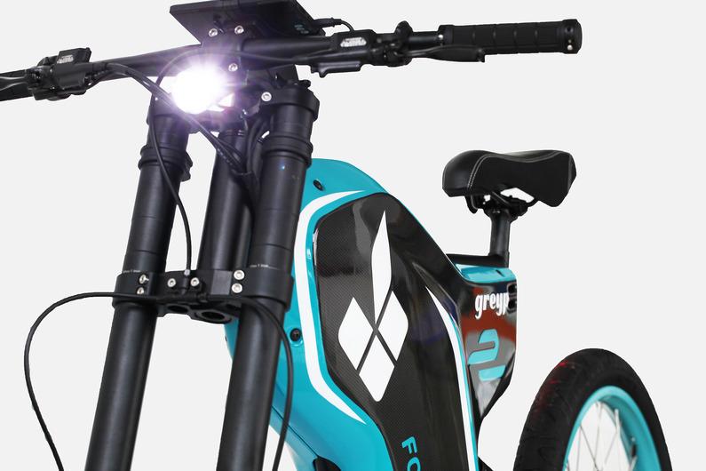 Electric Greyp G12 - custom electric bicycles models
